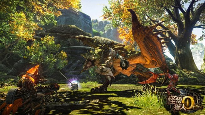 Wie im Konselen-Hit geht es bei Monster Hunter Online darum, riesige Monster zu jagen.