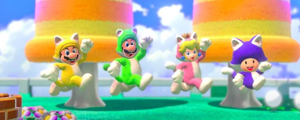 Super Mario 3D World Teaser