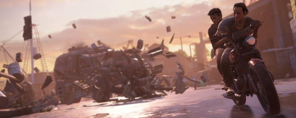 Uncharted 4 Teaser