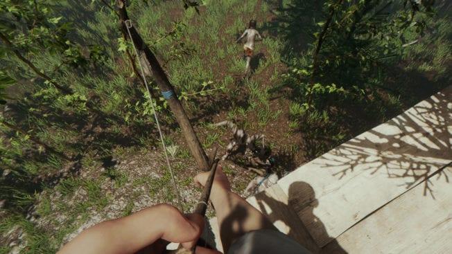The Forest Pfeil und Bogen