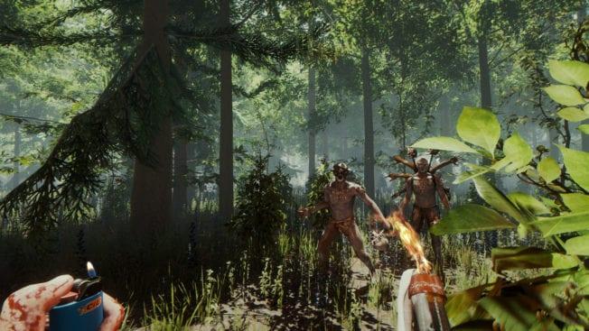 The Forest Gegner