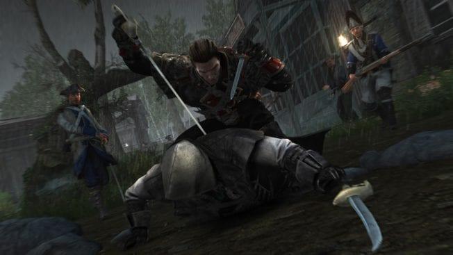Assassin's Creed Rogue Kampf