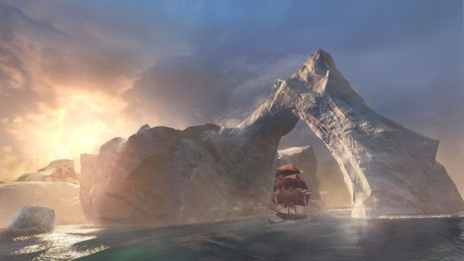Assassin's Creed Rogue Schiff Nordantlantik