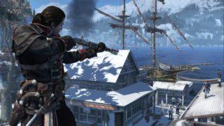 Assassin's Creed Rogue Fernkampf