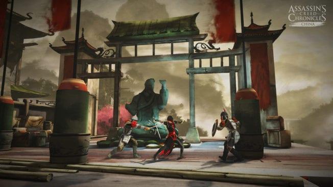 Assassin's Creed Chronicles Kampf