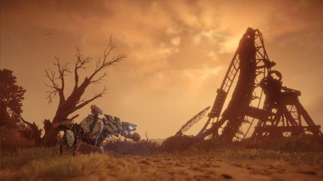 Horizon Zero Dawn Ruine