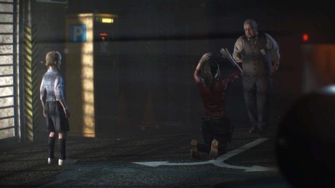 Resident Evil 2 Sherry im Parkhaus