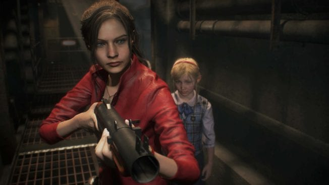 Resident Evil 2 Claire und Sherry