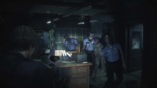 Resident Evil 2 Horde Zombies
