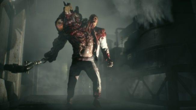 Resident Evil 2 Endgegner G-Virus Monster