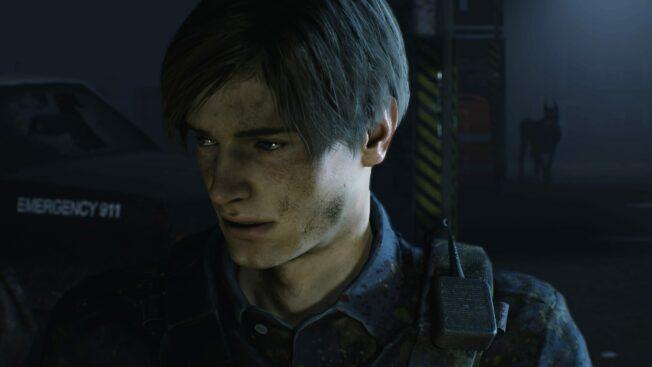 Resident Evil 2 Leon in Gefahr