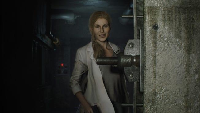 Resident Evil 2 Doctor Birkin