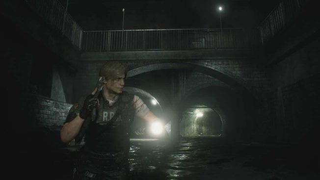 Resident Evil 2 Leon Kanalisation