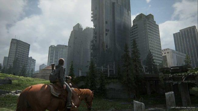 The Last of Us 2 Pferd