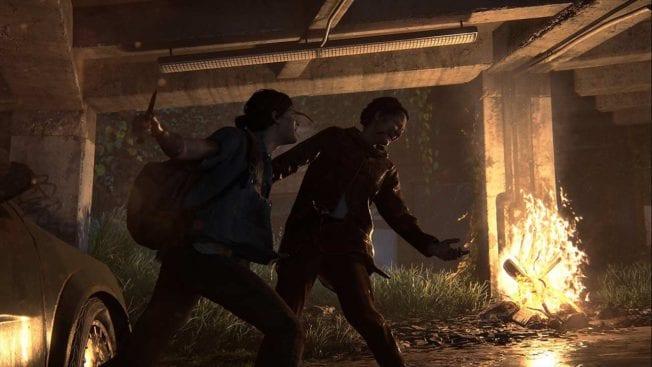 The Last of Us 2 Ellie kämpft