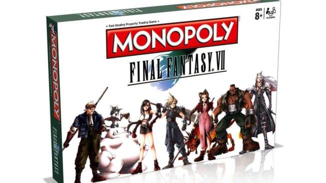 Final Fantasy 7 Monopoly