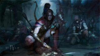 Diablo 4 - Bilder - Wallpaper Screenshots von der Jägerin (Rogue)
