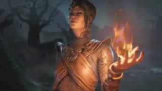 Die Zauberin in Diablo 4