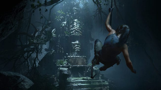 Show of the Tomb Raider Schwingen