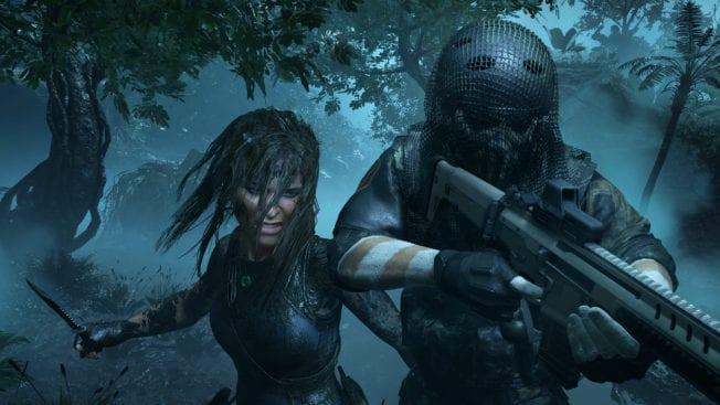 Show of the Tomb Raider Schleichen