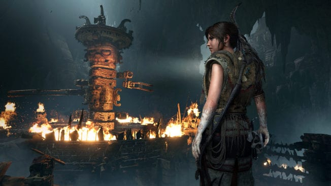 Show of the Tomb Raider Feuer
