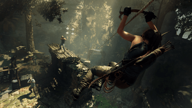 Show of the Tomb Raider Angriff