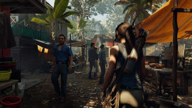 Show of the Tomb Raider Menschen