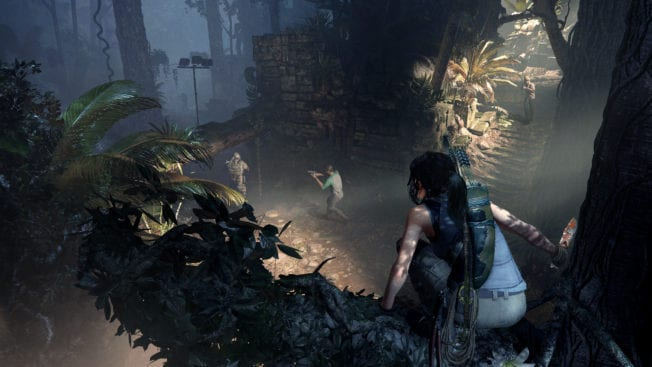 Show of the Tomb Raider Infiltrieren