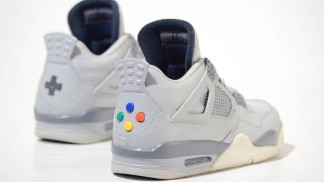 Jordan Schuhe von Nintendo
