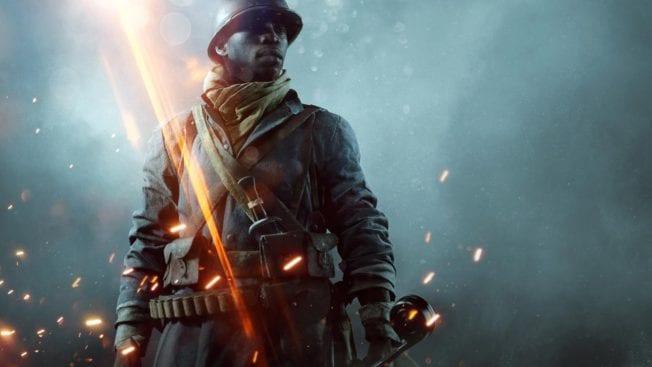 Soldat im Battlefield 1 DLC They Shall Not Pass