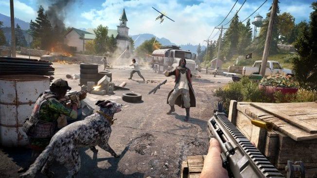 Far Cry 5 Schießen
