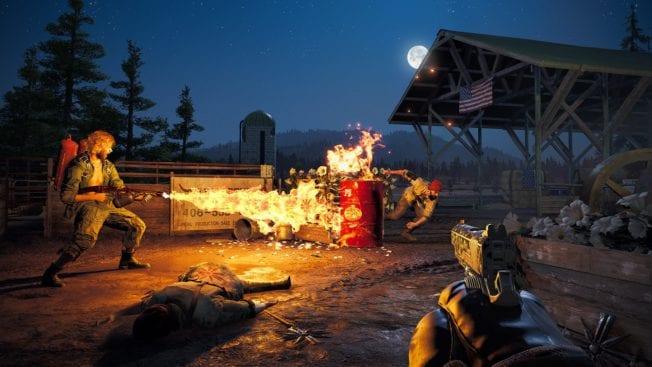 Far Cry 5 Feuer
