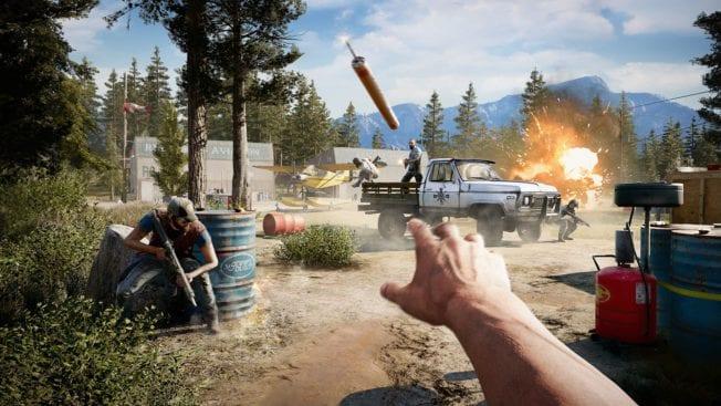 Far Cry 5 Explosionen