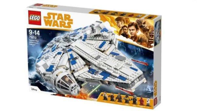 Star Wars-Lego vom Han Solo-Film.