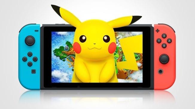 Pokémon für Nintendo Switch wird Reboot