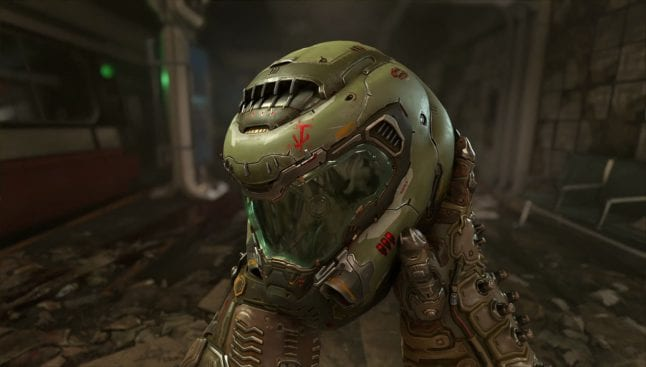 DOOM (2016): Doom Slayer-Helm