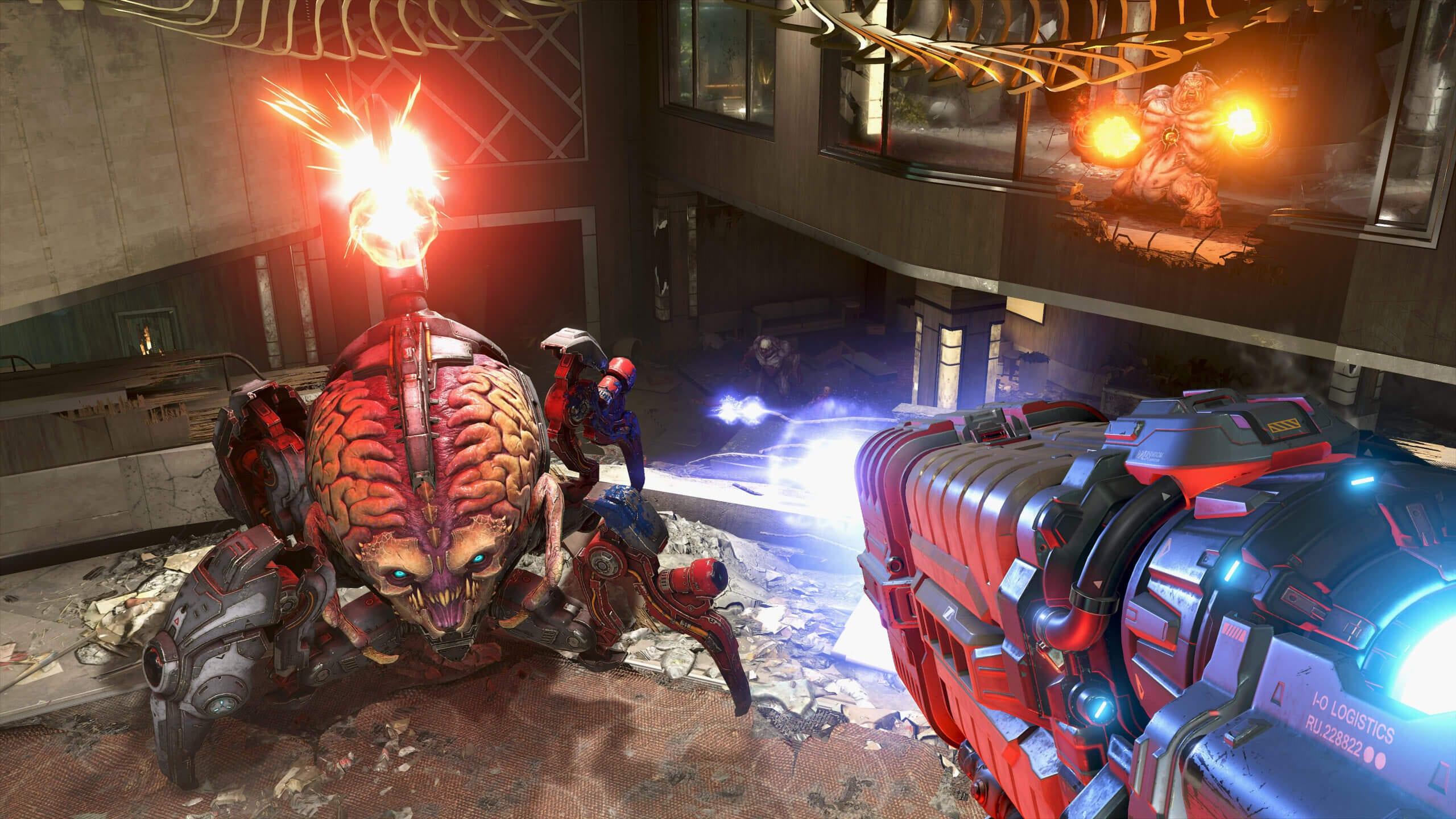 Doom Eternal Arachnotron