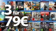 3 Spiele für 79€