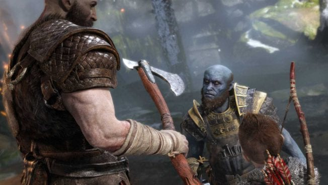 God of War: Zwerg und Händler