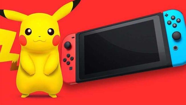Nintendo Switch Pokémon Teil
