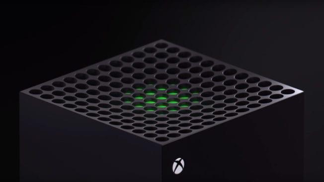 Oberseite Xbox Series X