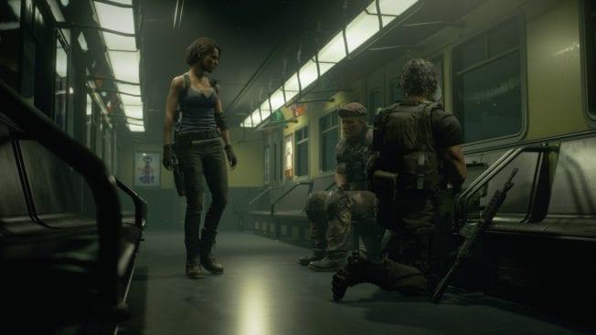 Jill Valentine Zug Resident Evil 3
