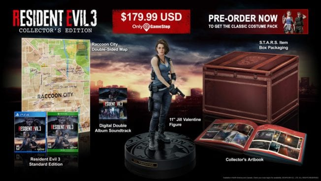 Collectors Edition Resident Evil 3