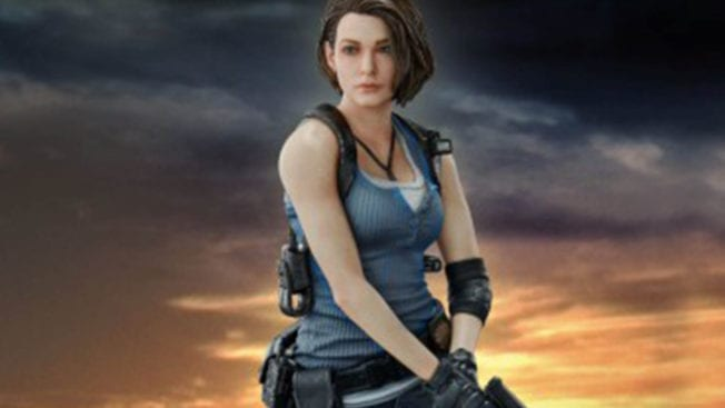 Jill Valentine Figur Collectors Edition
