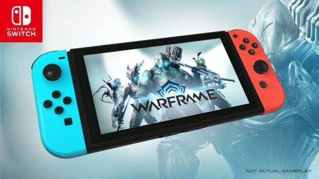 Nintendo Switch-Version von Warframe