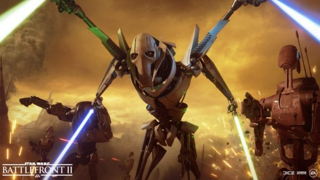 Star Wars Battlefront 2: General Grievous