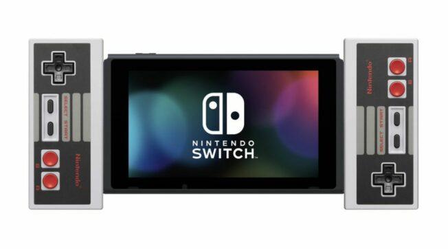 Kompatibel mit NES-Controller der Nintendo Switch