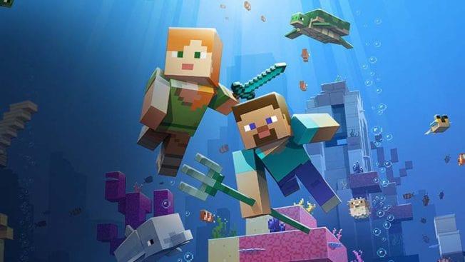 Minecraft Unterwasser-Update