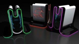 Konsolen: Konzeptbilder zum Controller der Mad Box, Belohnungen fürs Onlinespielen denkbar
