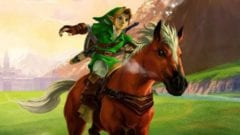 The Legend of Zelda Link Epona